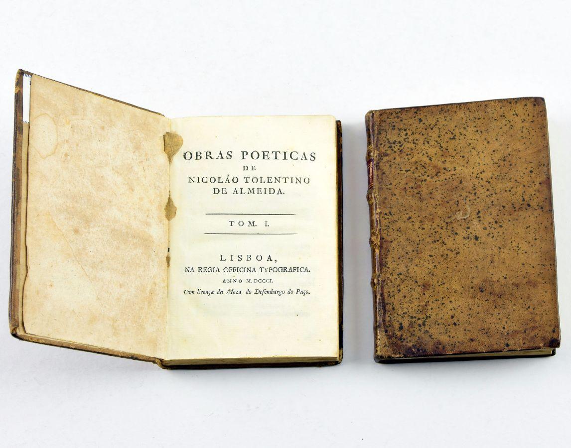 Nicolau Tolentino, 1º edição das Obras completas (1801)