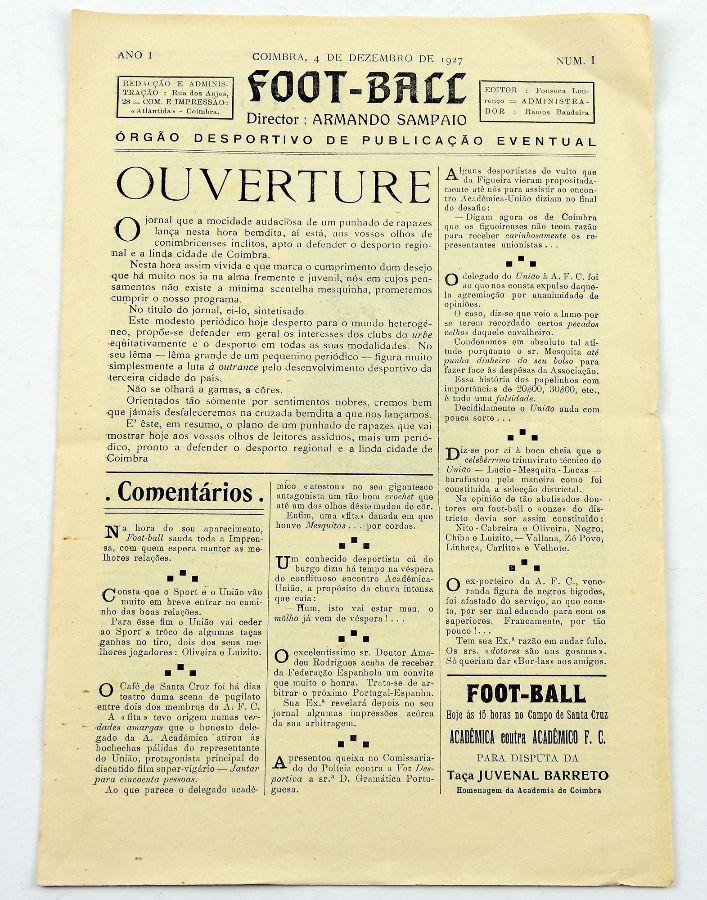 Foot-Ball (jornal 1927)