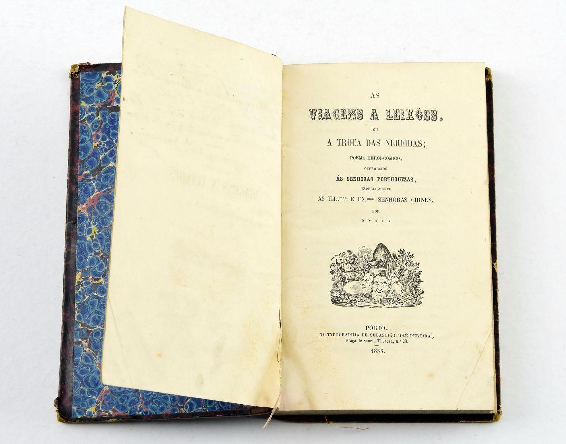 Rara obra do irmão de Garrett (1855)
