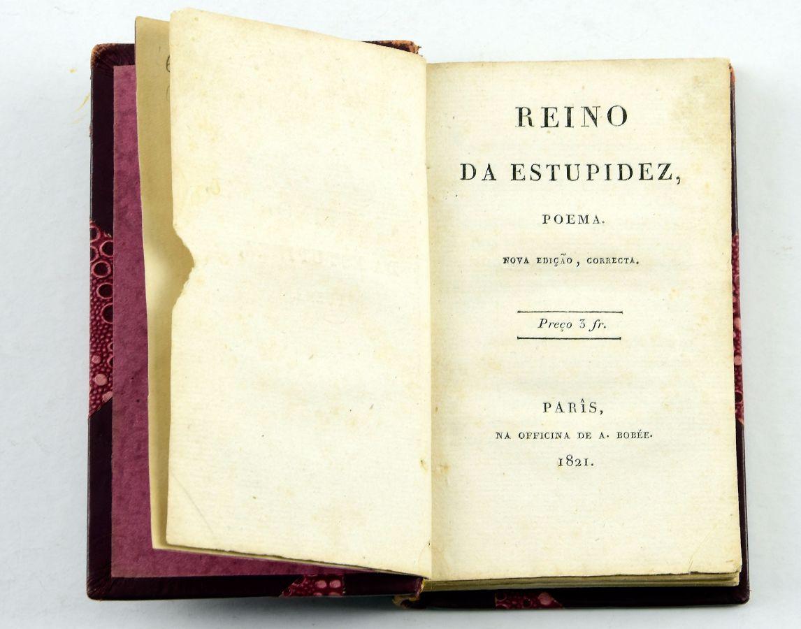 O Reino da Estupidez (1821)