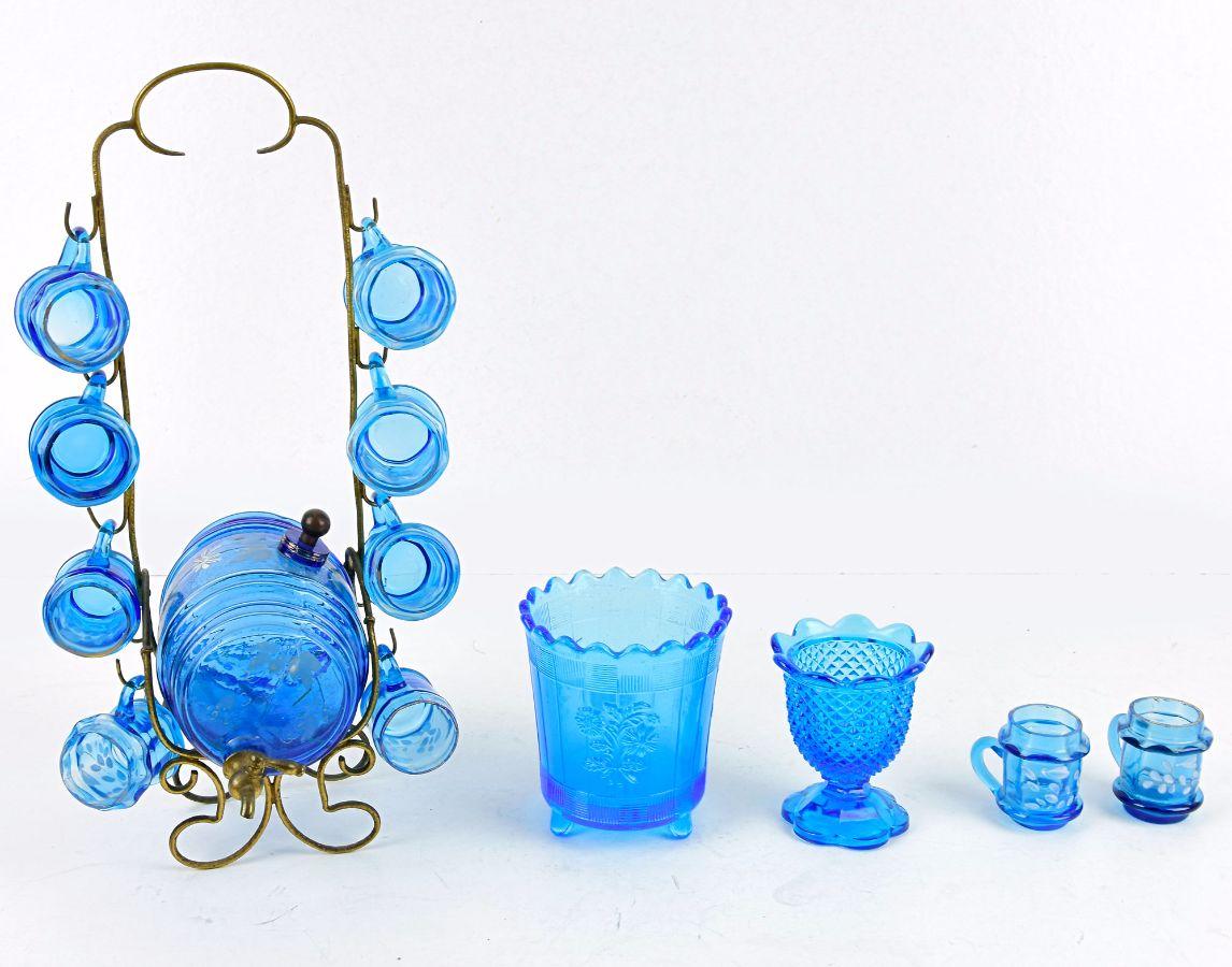Barril Licoreiro com 10 copos