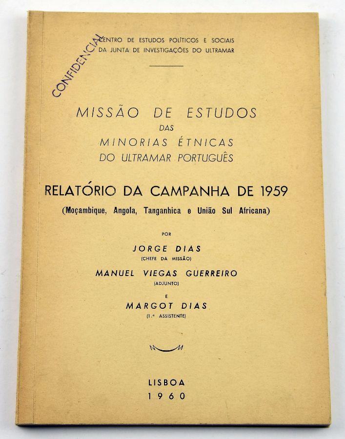 MISSÃO DE ESTUDOS NO ULTRAMAR- CONFIDENCIAL