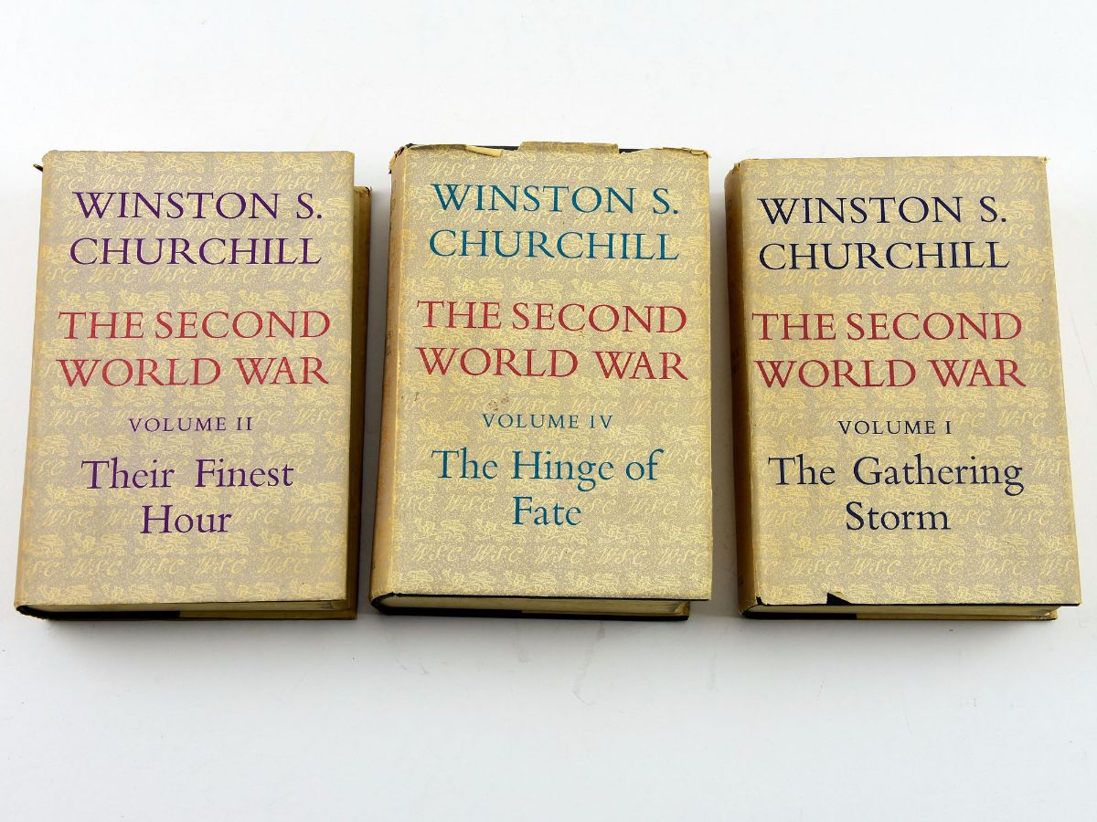 WINSTON CHURCHILL-THE SECOND WORLD WAR
