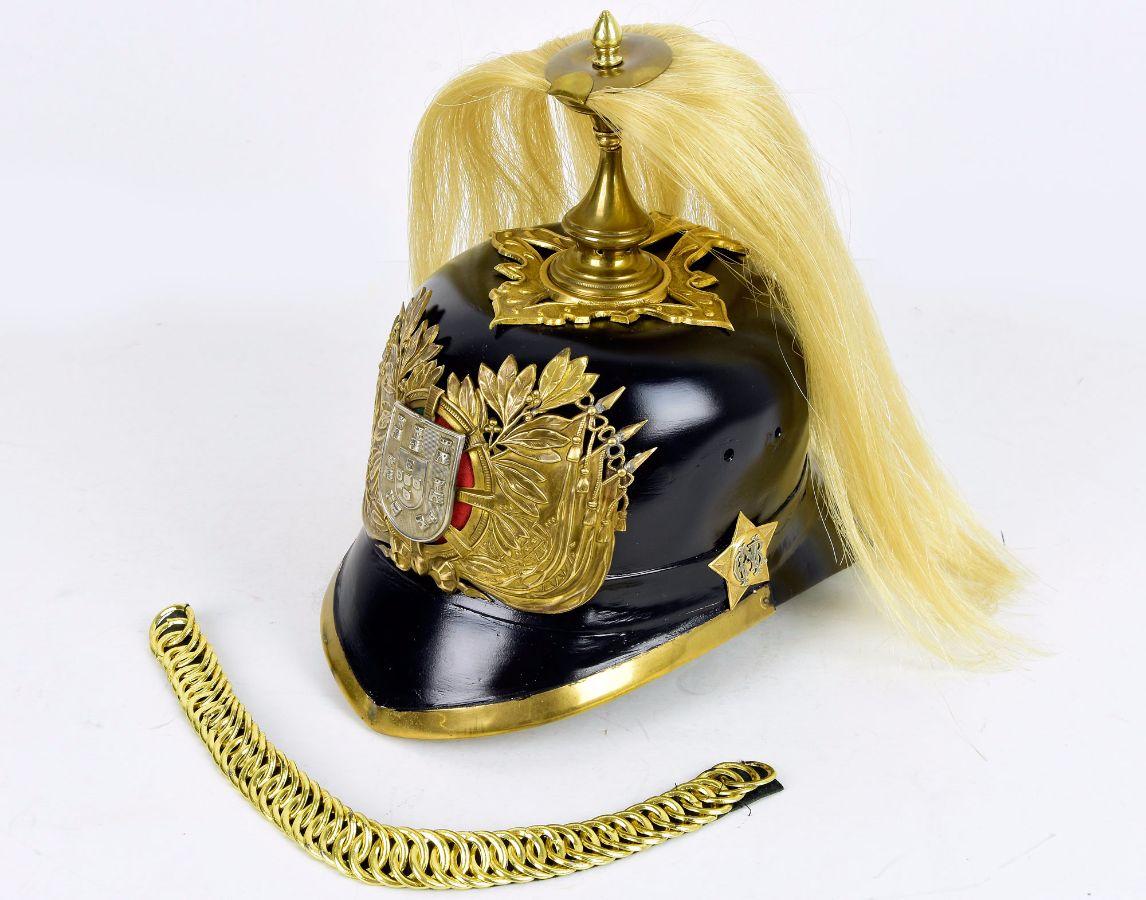 Capacete de Cavaleiro da GNR