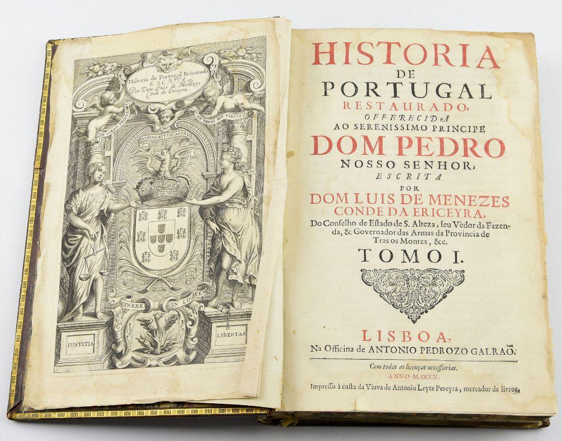 História de Portugal Restaurado, 1710