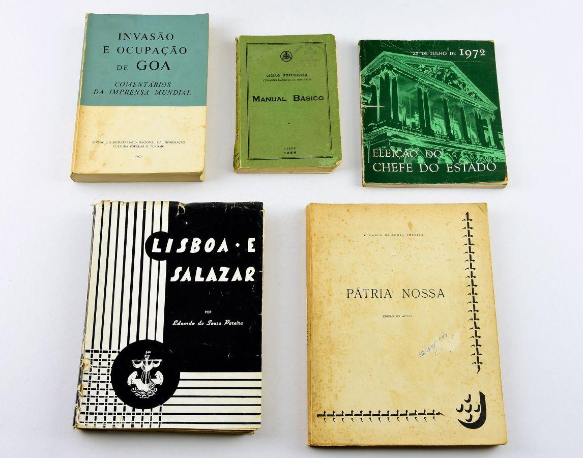 5 Livros do período Salazarista