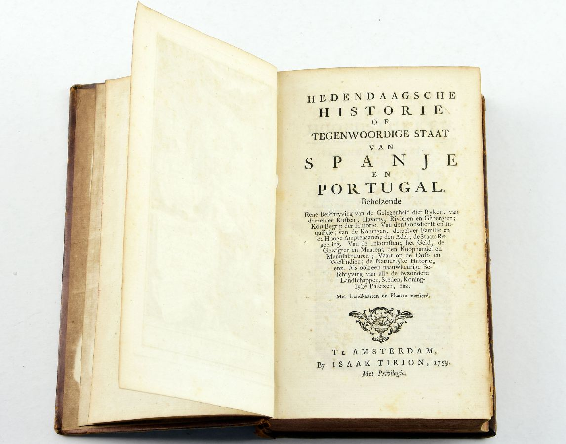 Hedendaagsche Histoire of Tegenwoordige Staat Van Spanje en Portugal