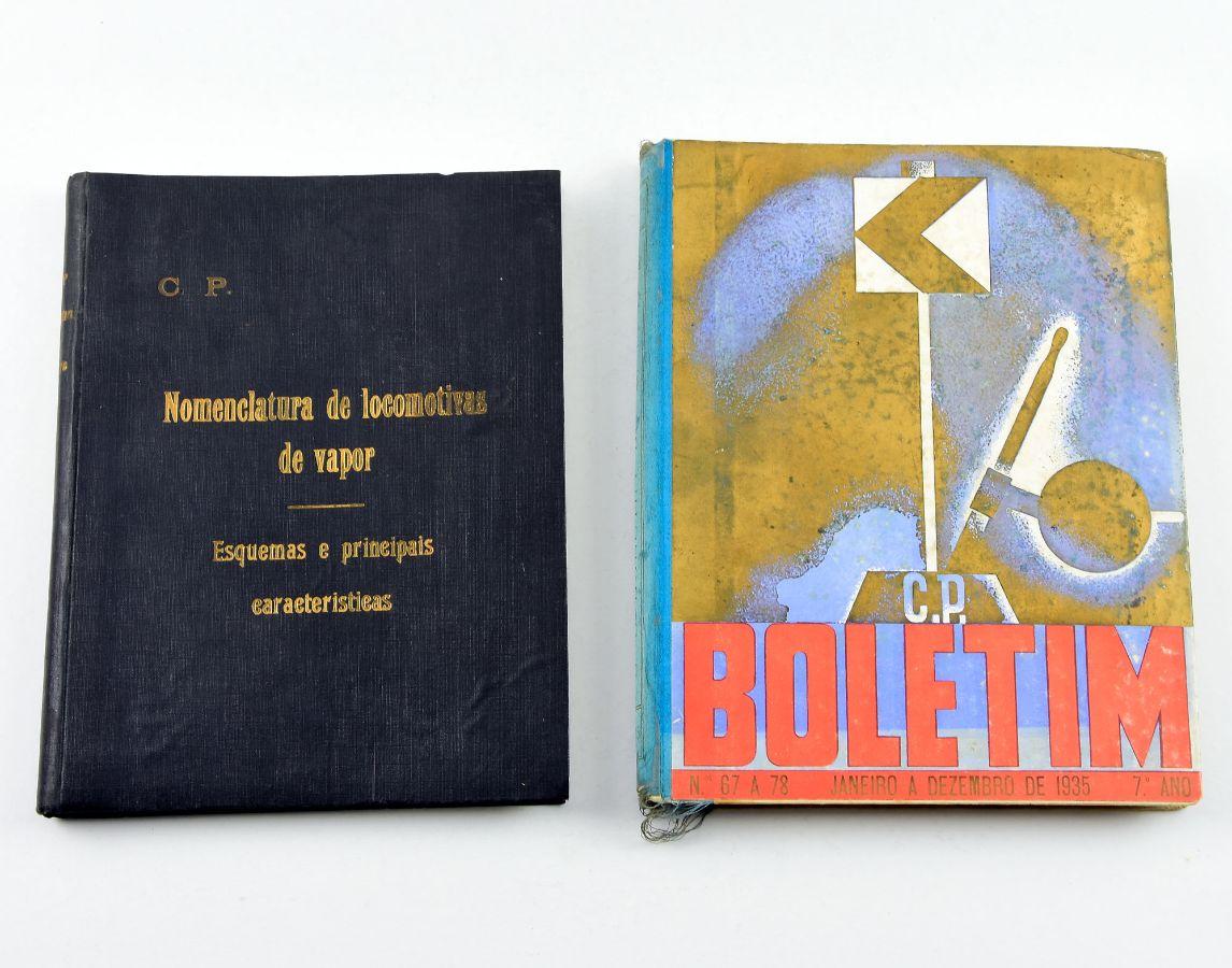 2 Livros sobre comboios