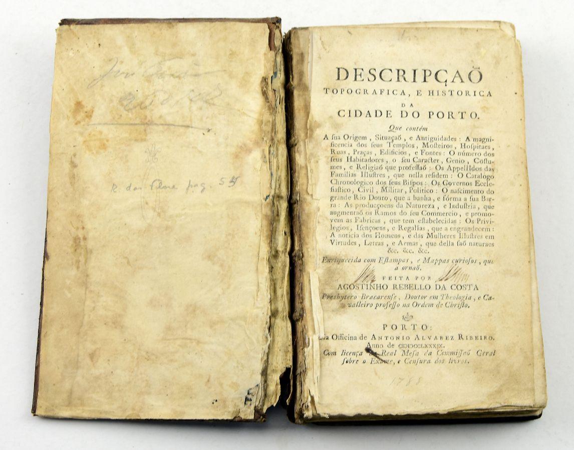 Descrição Topográfica e História da Cidade do Porto, 1788