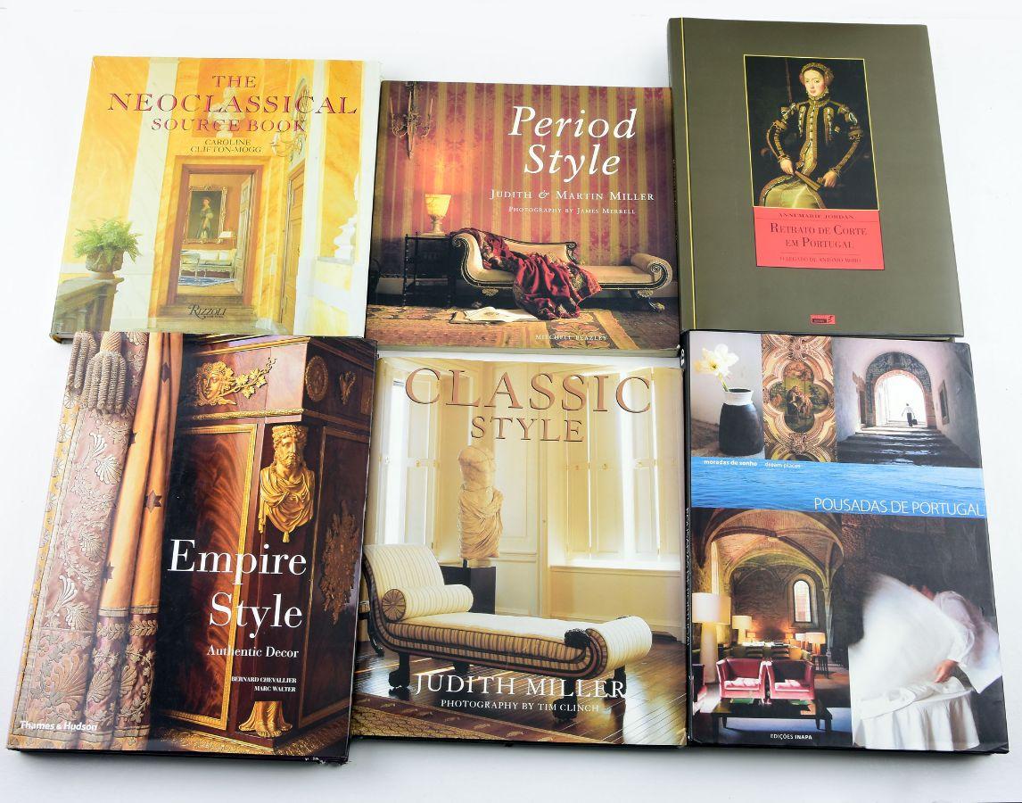 6 Livros diversos (Decoração)