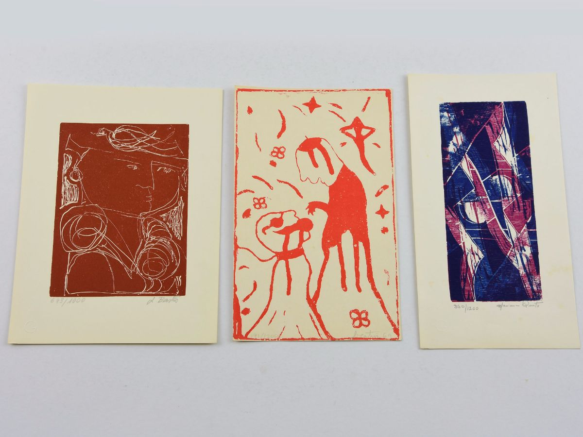 3 Serigrafias