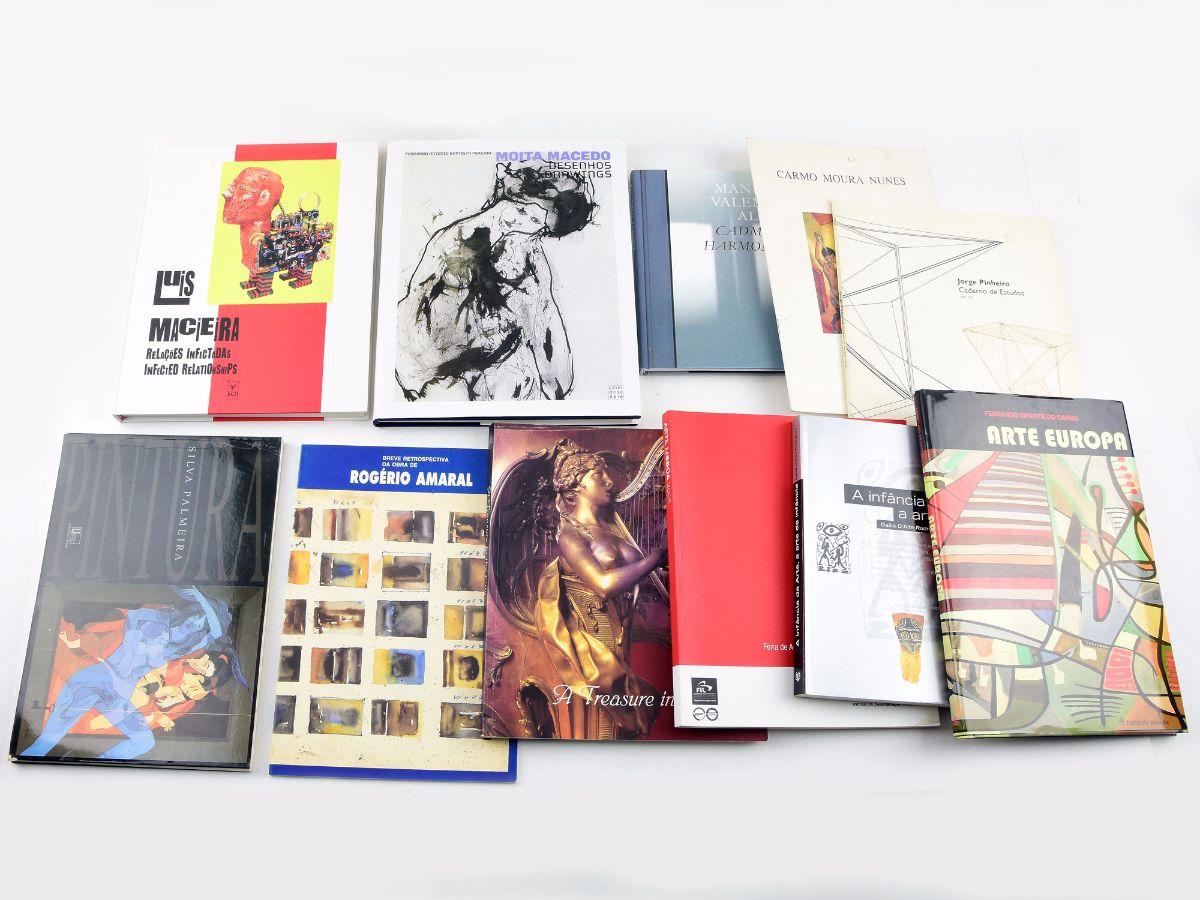 10 Livros/Catálogos sobre pintura