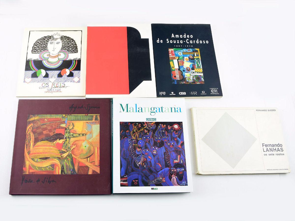 6 Livros de Pintores