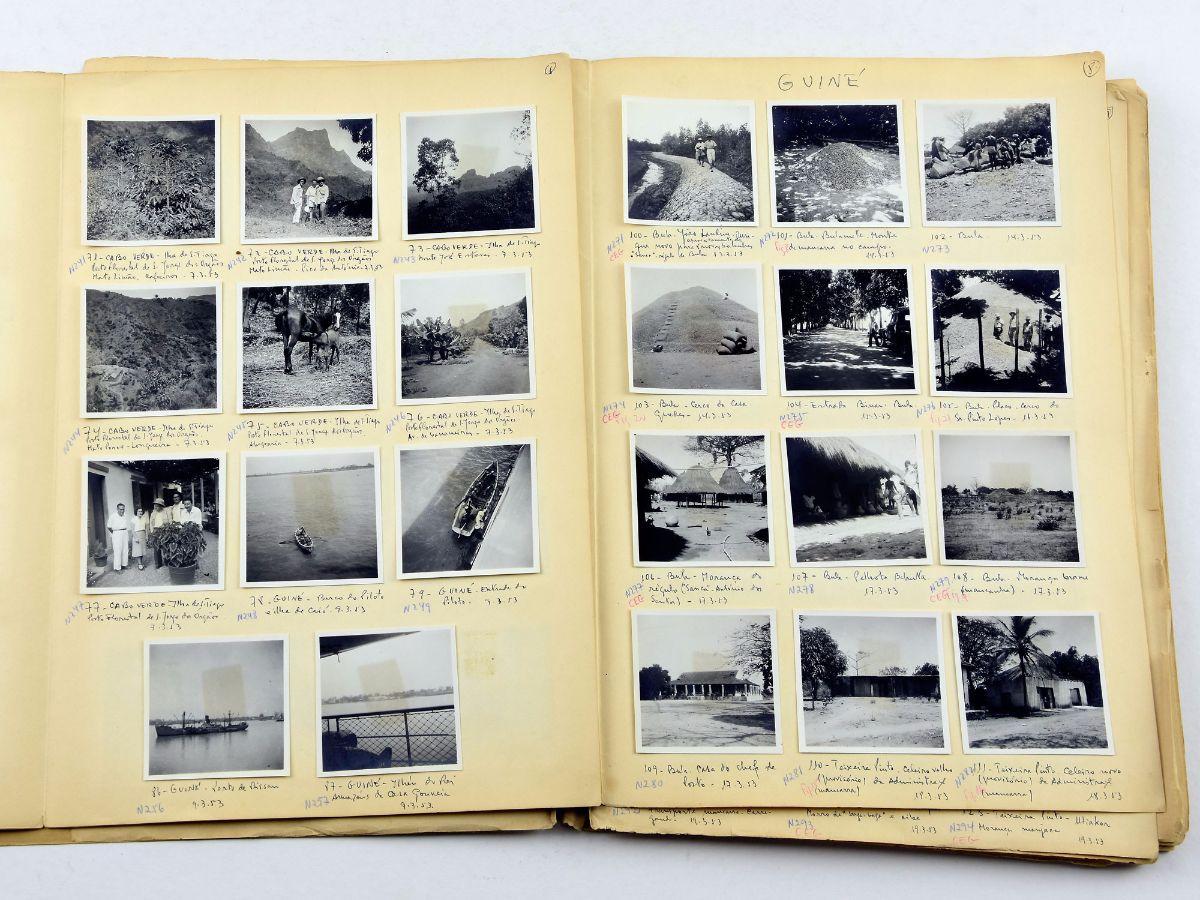 Álbum de fotografias de África / Guiné / Senegal