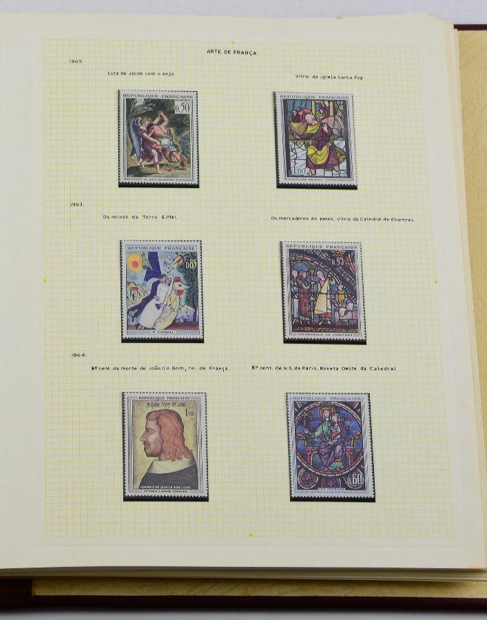 Selos sobre Arte e Pintura