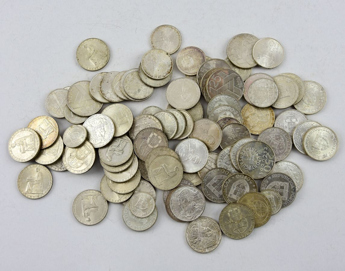 Moedas Portuguesas em Prata