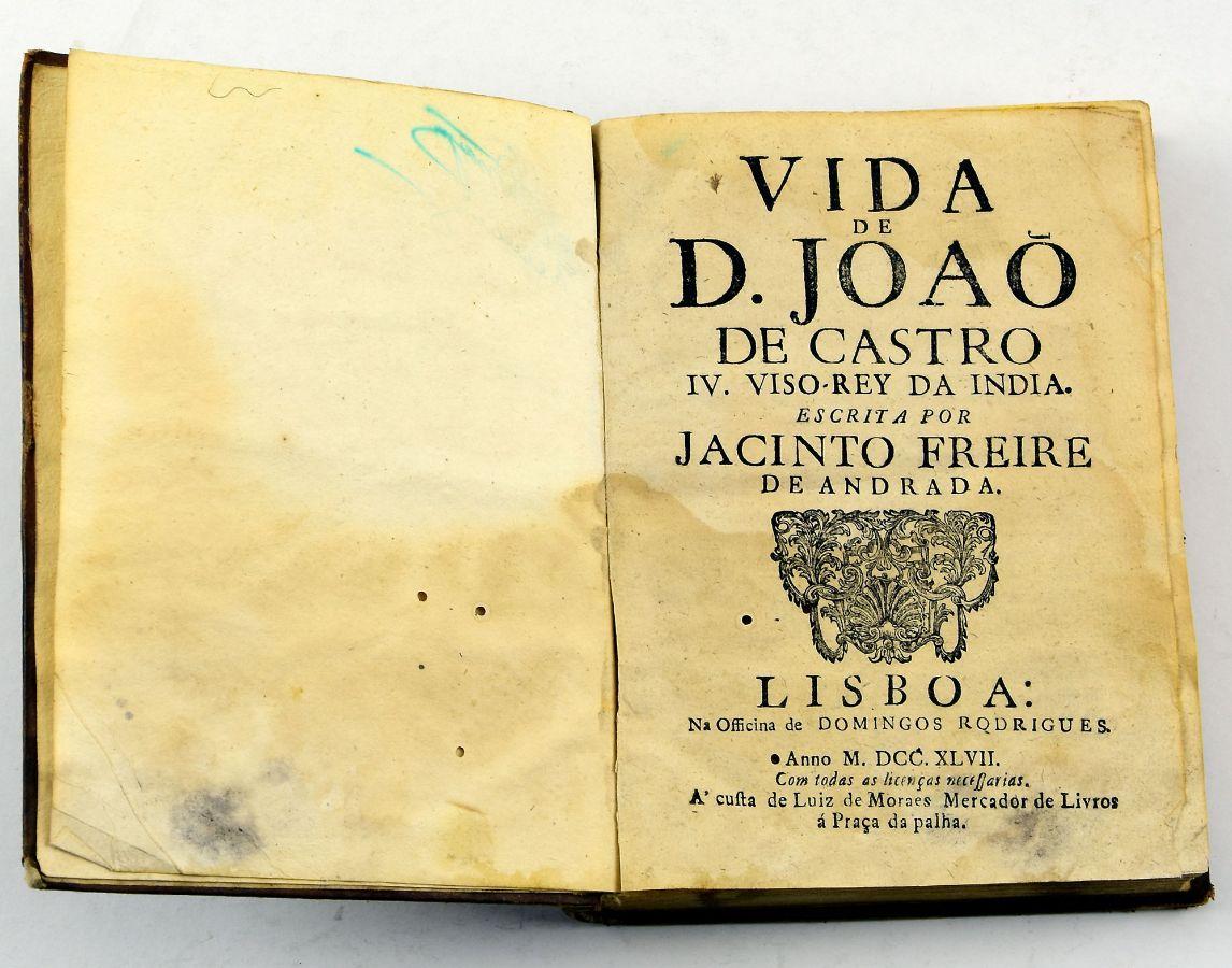 Vida de D. João de Castro IV Vice Rei da India