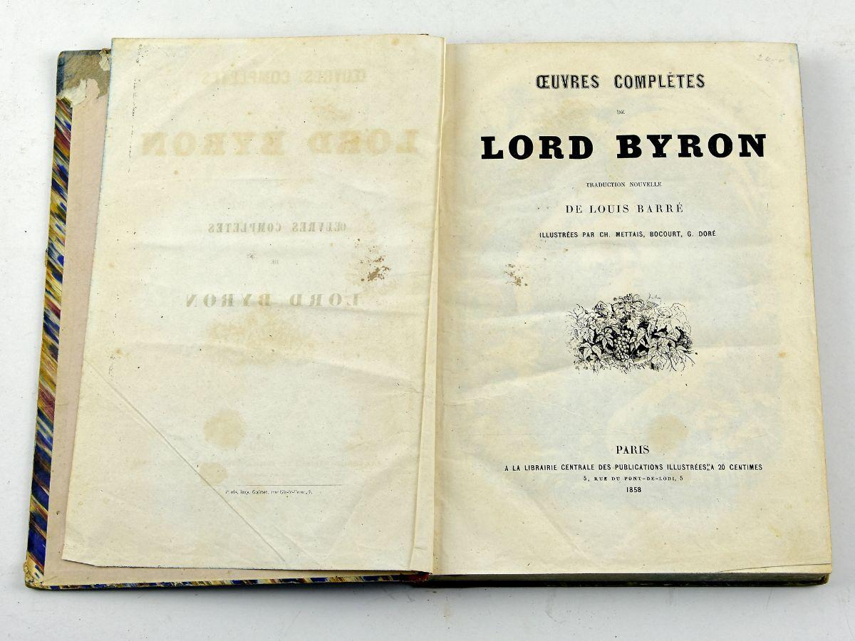 Oeuvres Complétes de Lord Byron
