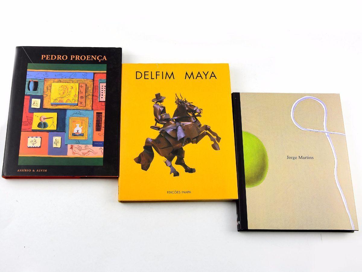 3 Livros de Pintores