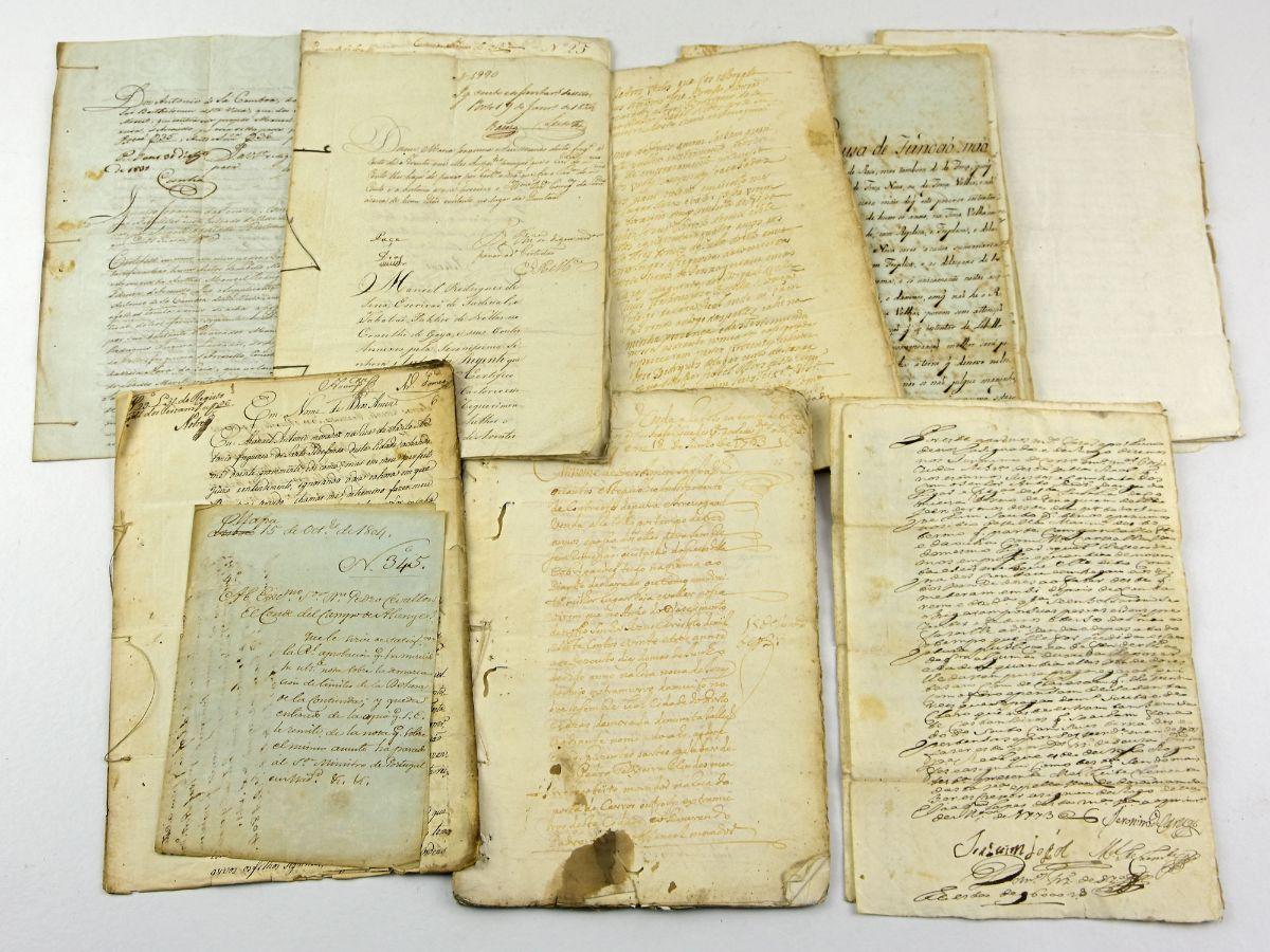 Manuscritos séc. XVIII e XIX