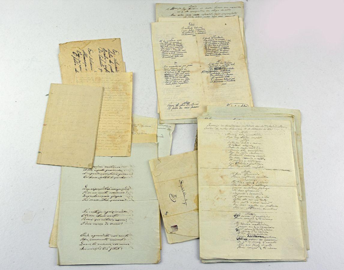 17 Manuscritos Séc. XVIII e XIX
