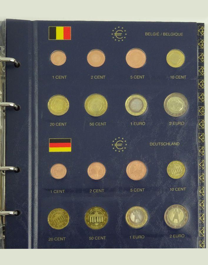 Álbum com as edições de Euro