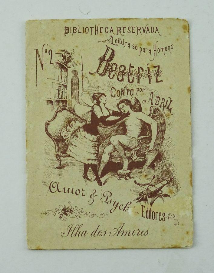 83c25ecf4 Lote - Livro erótico clandestino (leitura só para homens)