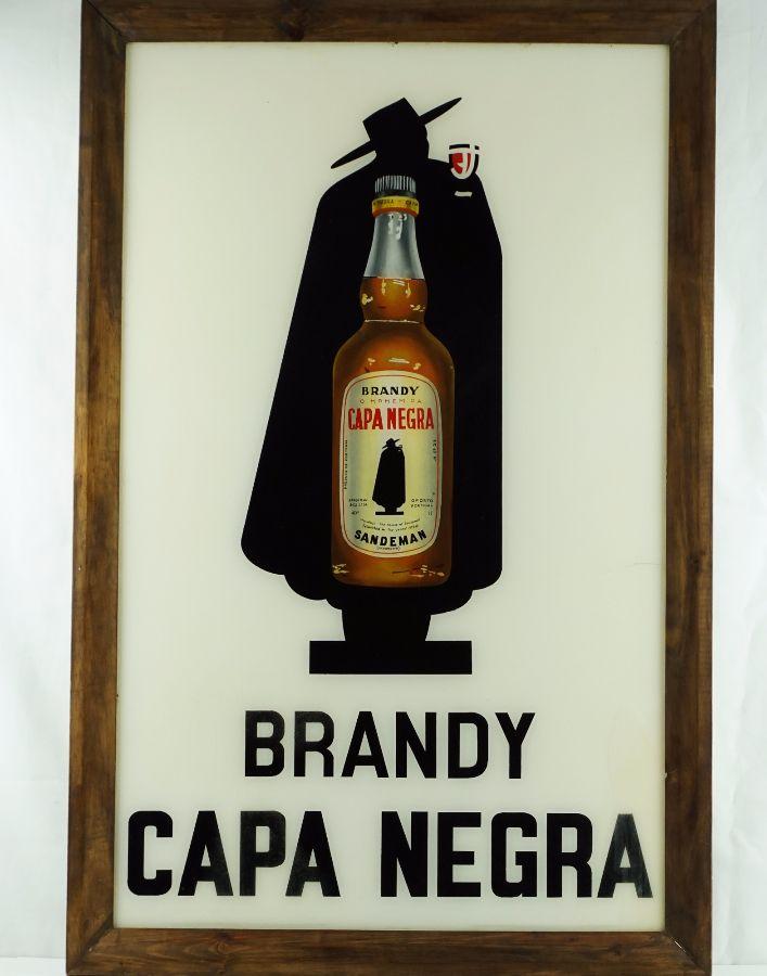 Publicidade Brandy Capa Negra Sandeman