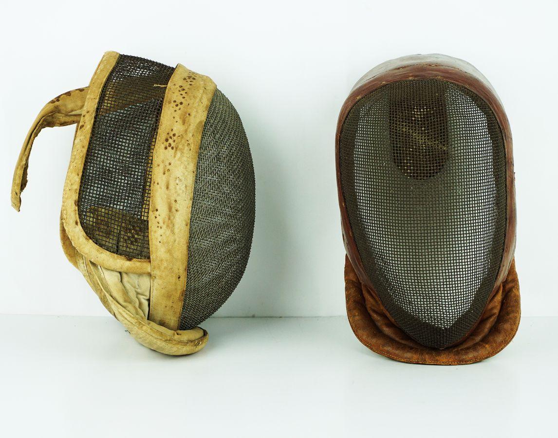 2 Máscaras de Esgrima