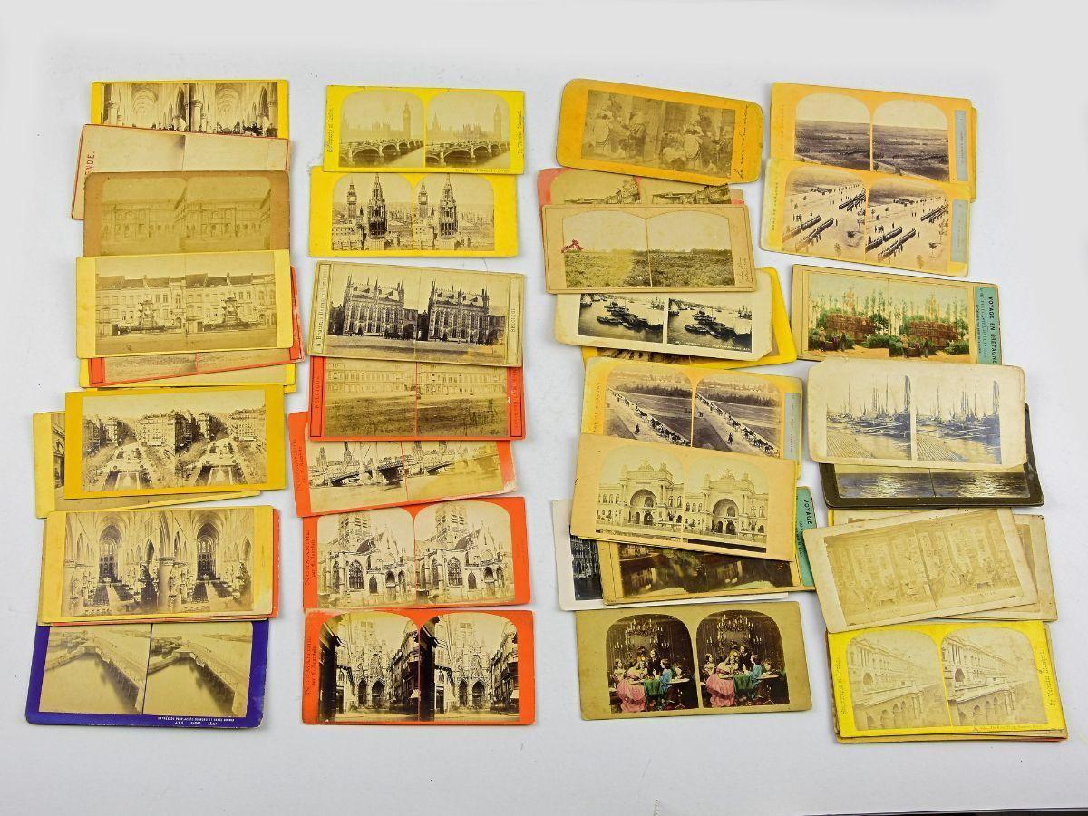 49 Fotografias duplas para estereoscópio