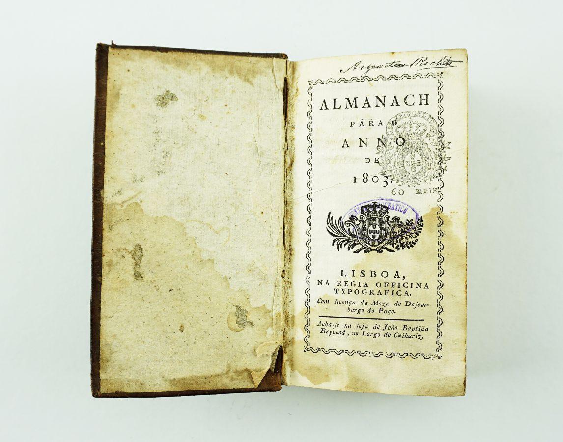 Almanaque para o ano de 1803