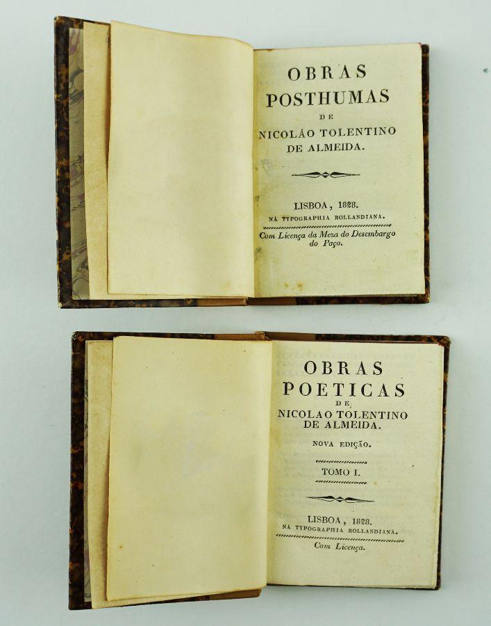 Nicolau Tolentino, Obras completas (1828)