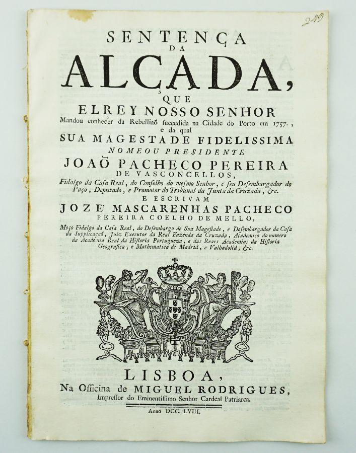 Rebelião de 1757 no Porto