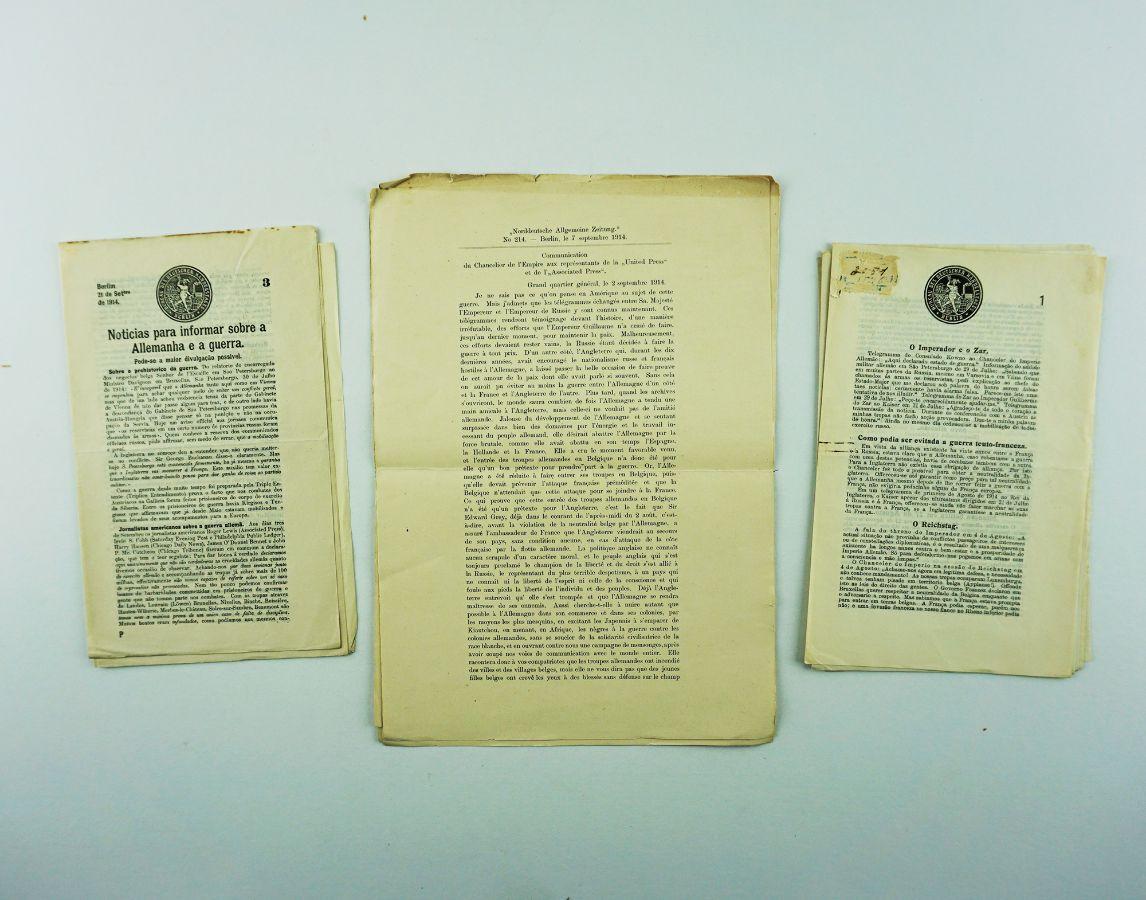 Grande Guerra – propaganda alemã (1914-1915)