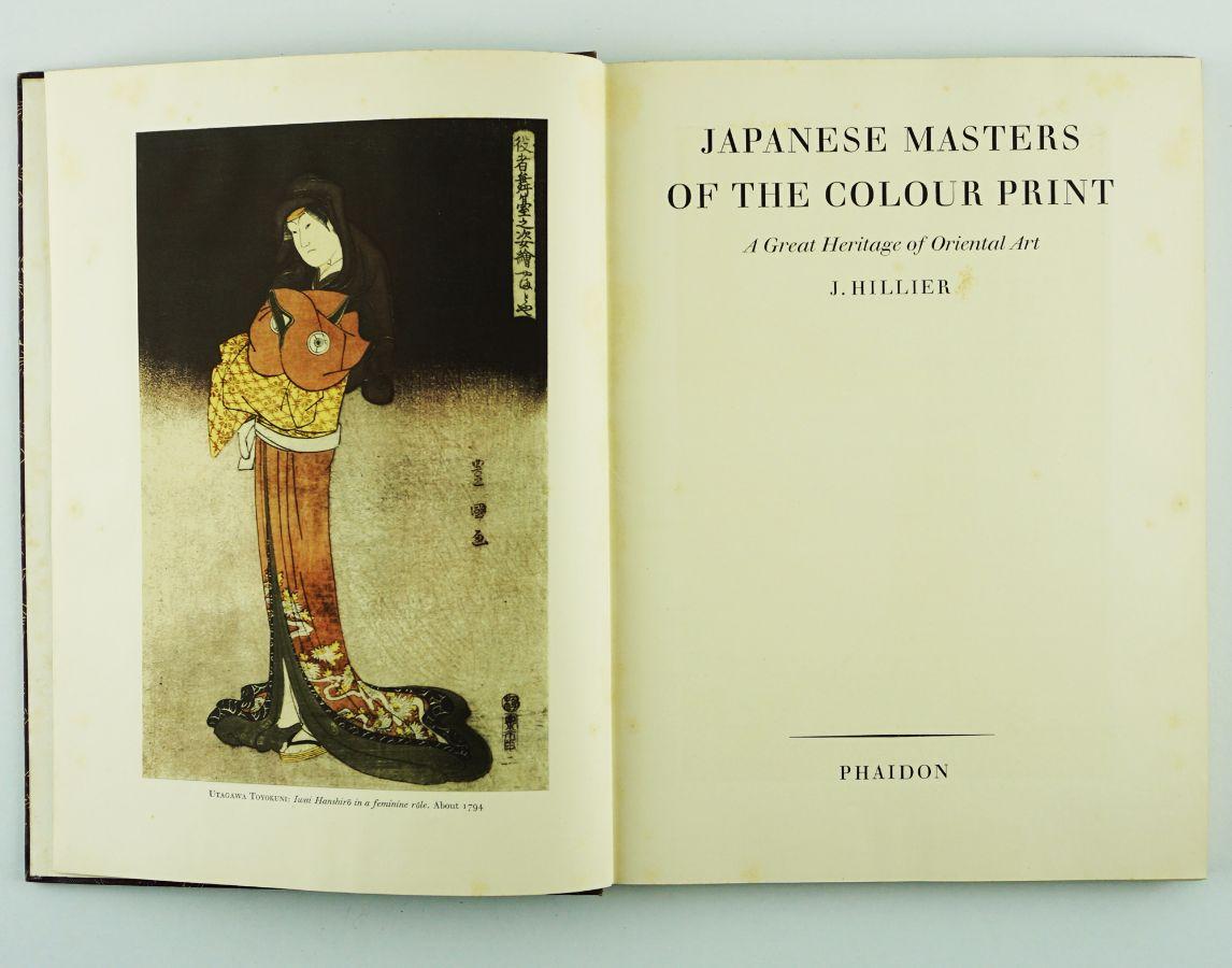 Livro sobre gravuras japonesas