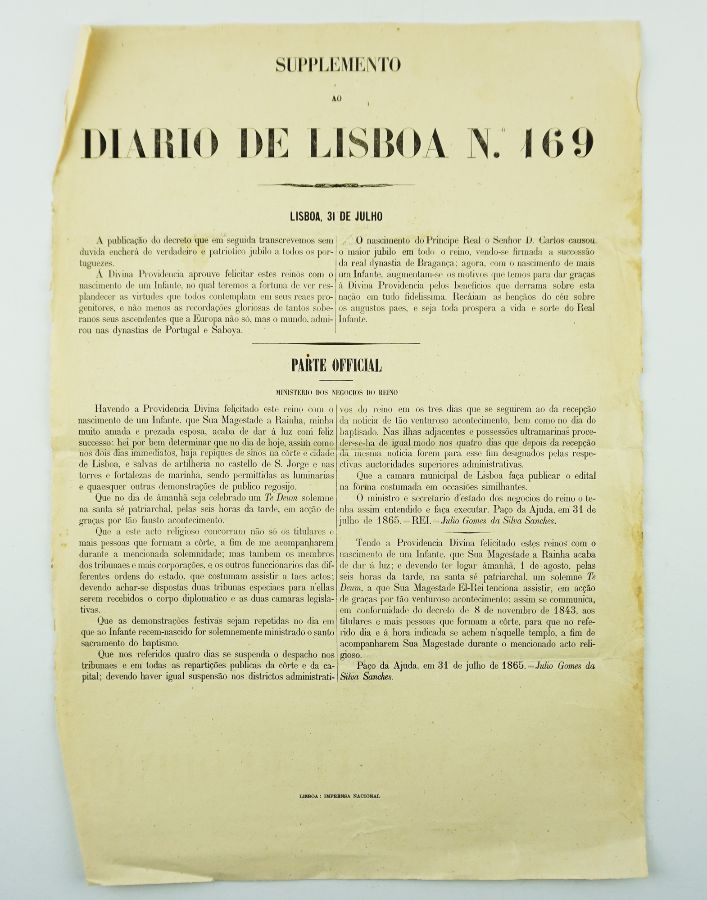 Nascimento do Infante D. Afonso (1865)