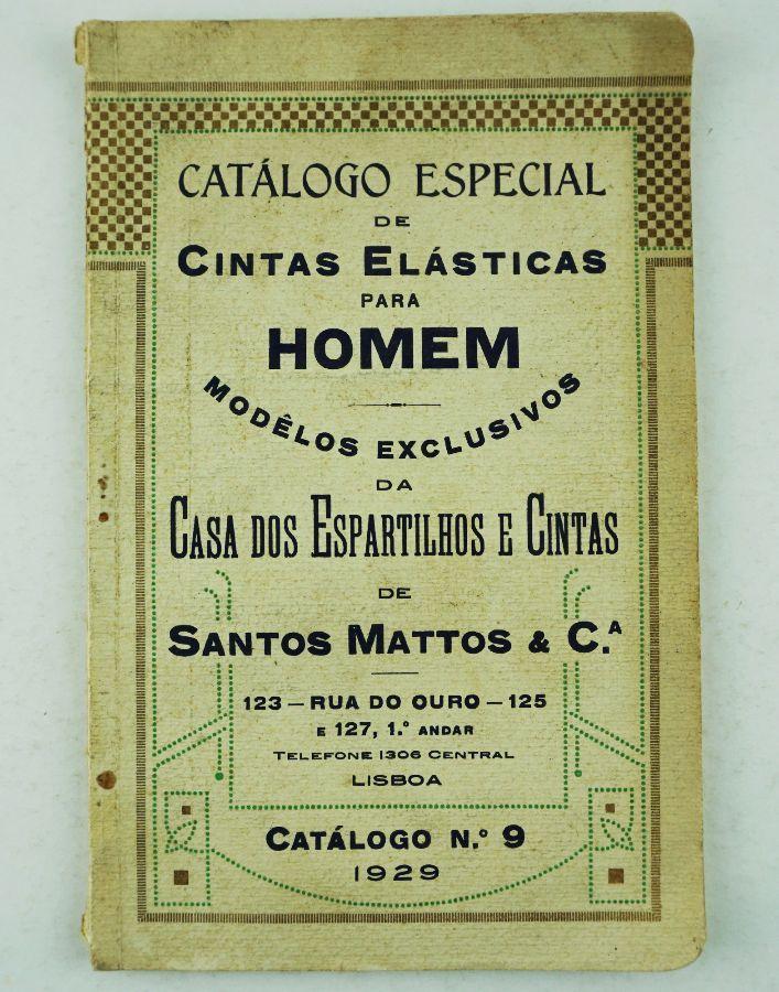Catálogo Comercial de Cintas, 1929