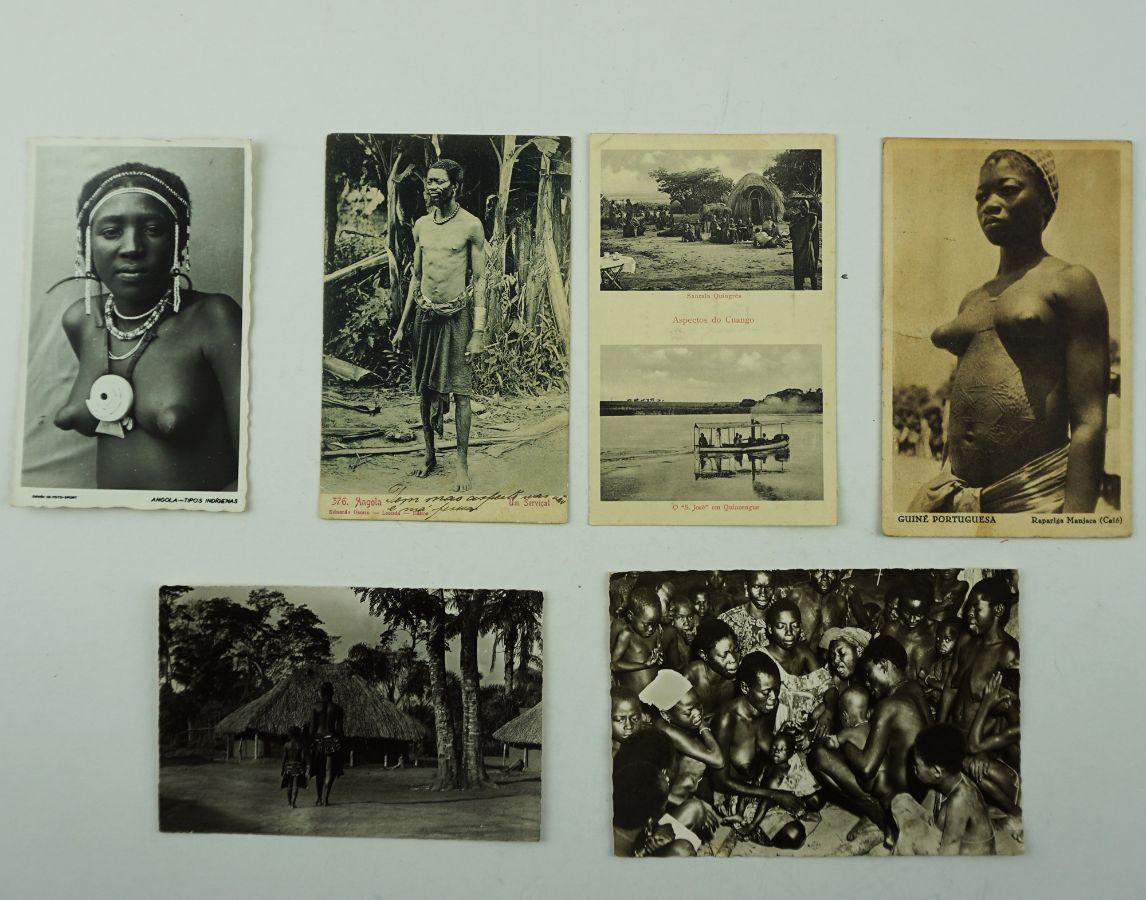 Postais-fotografia sobre África