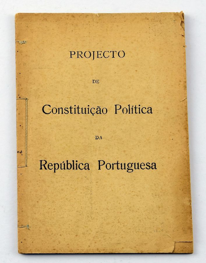 Projecto da Constituição de 1933