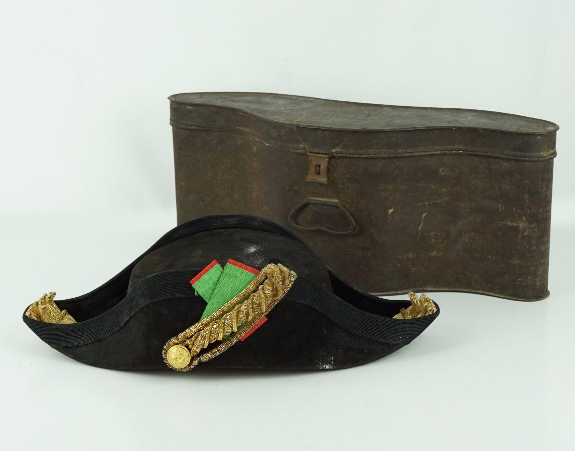 Chapéu armado de Oficial da Marinha