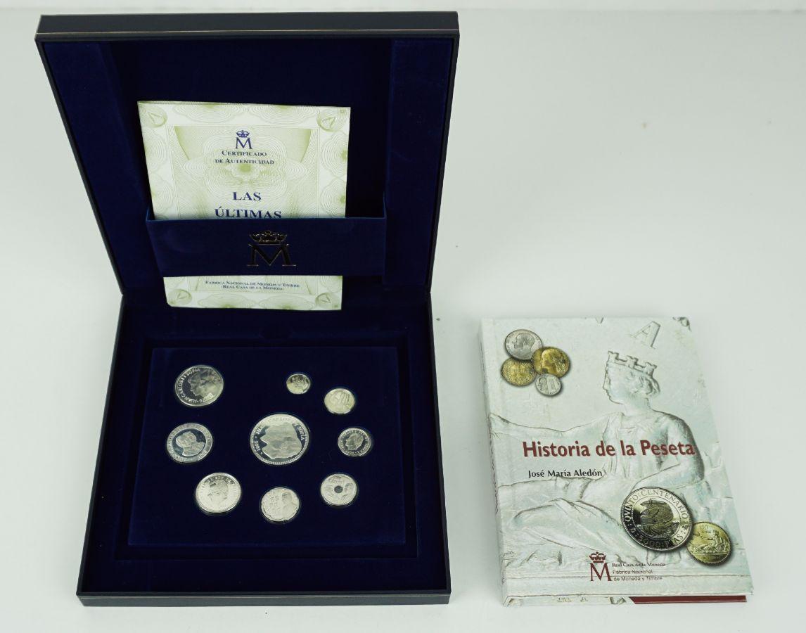 As últimas pesetas em prata