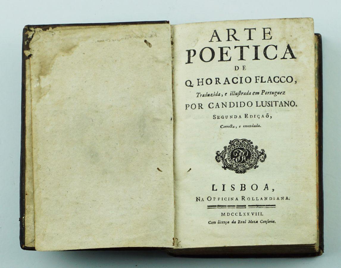 Arte Poetica de Q. Horácio Flacco