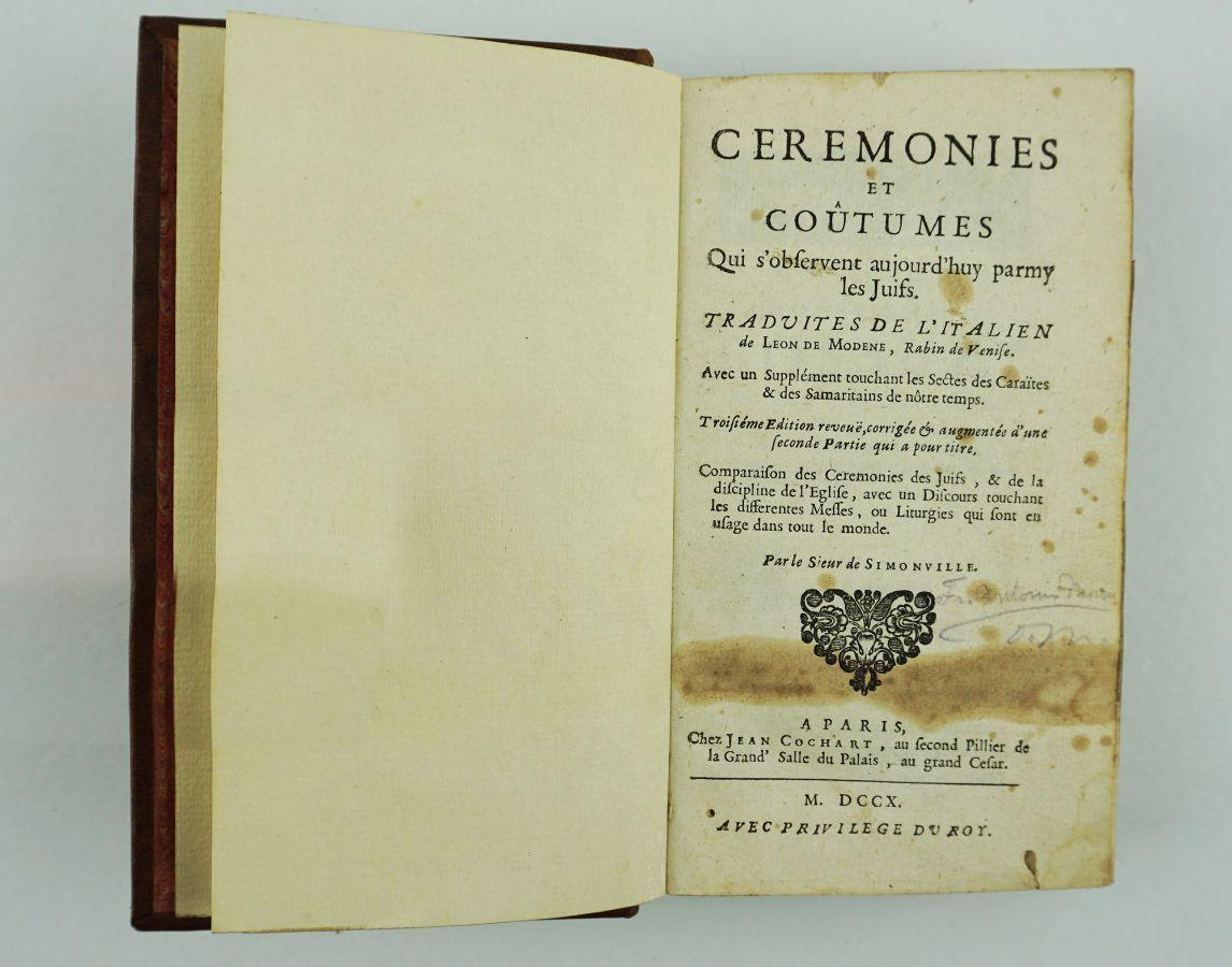 Ceremonies et Coûtumes