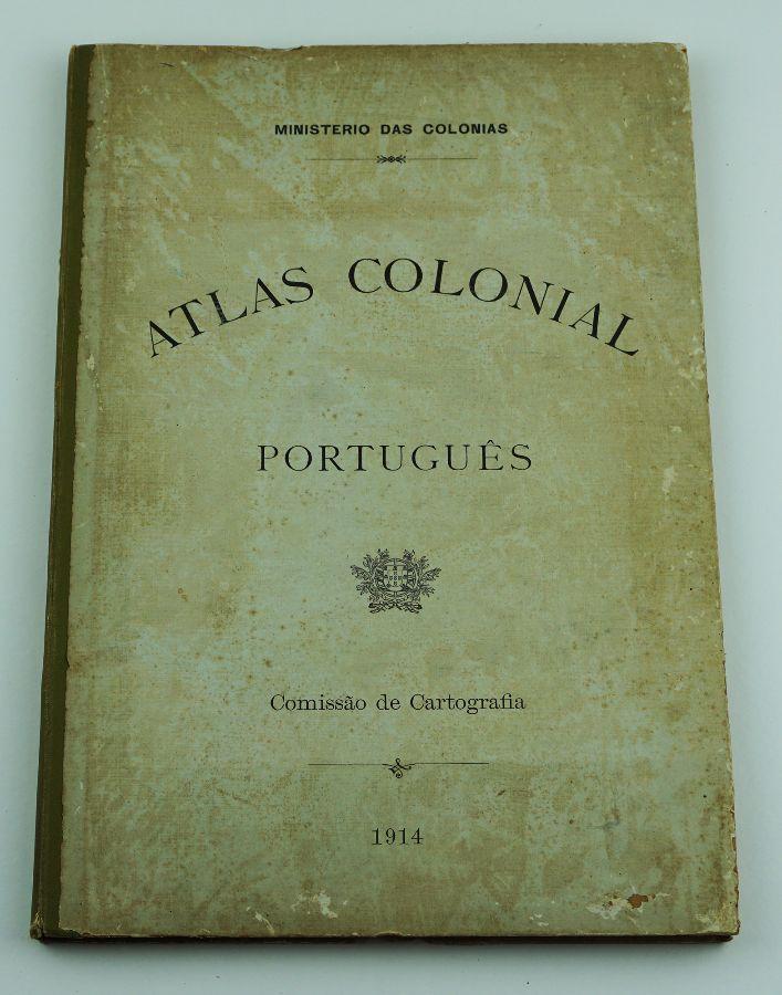 ATLAS COLONIAL PORTUGUÊS. 1914