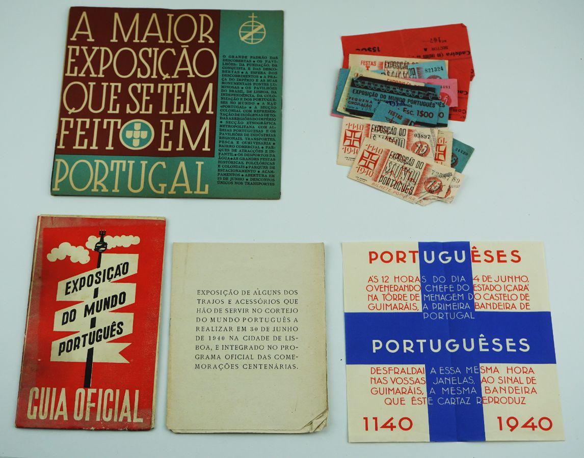 EXPOSIÇÃO DO MUNDO PORTUGUÊS. 1940.