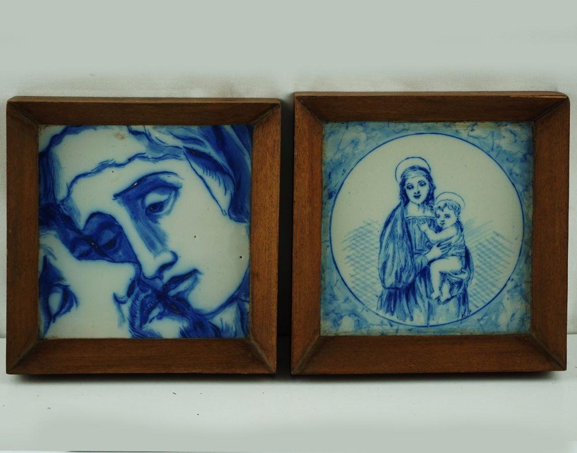 2 Azulejos Religiosos
