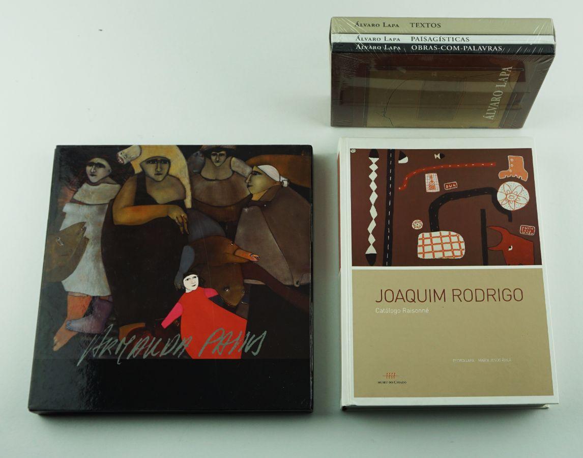 3 Livros de Arte