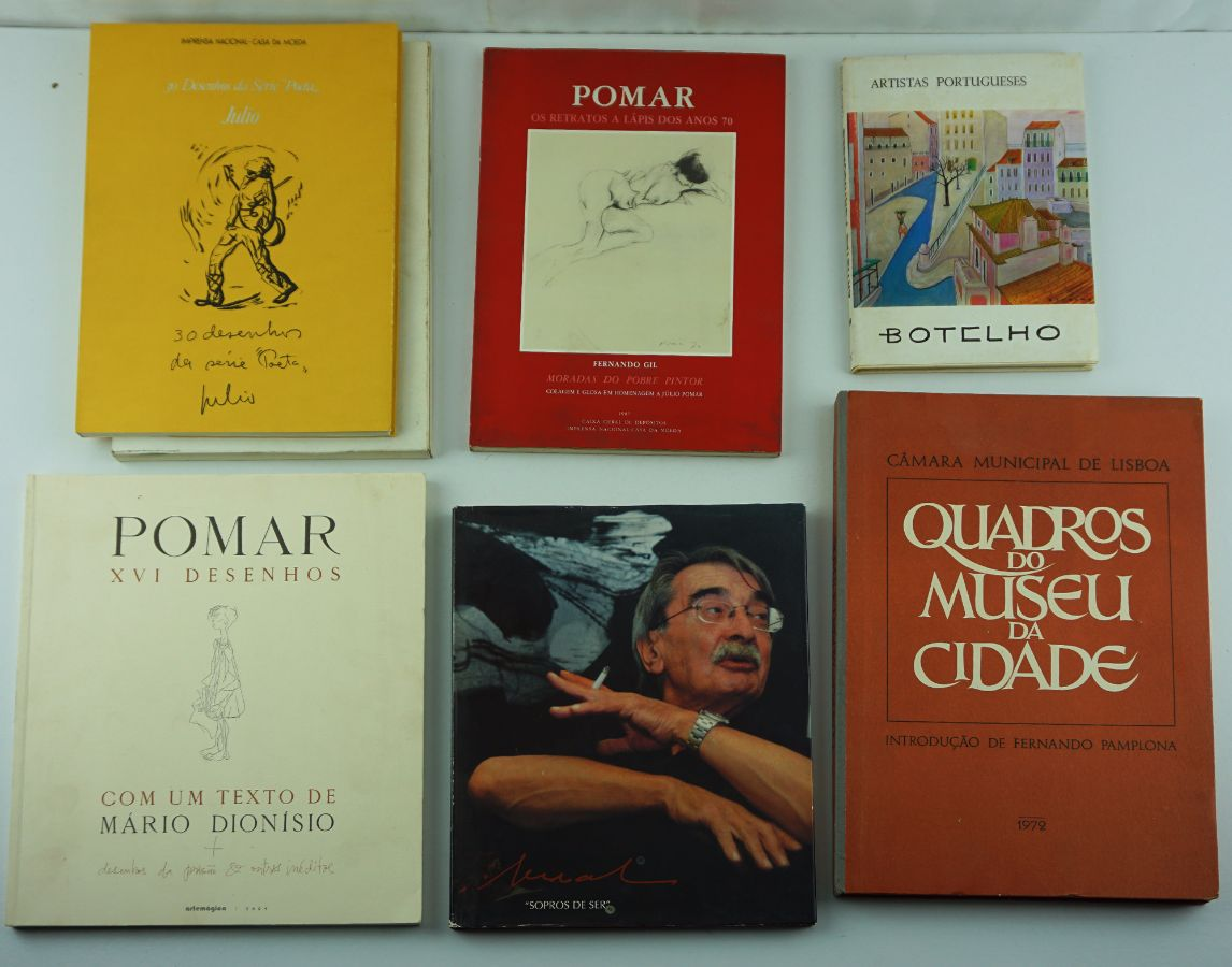 6 Livros de Pintura
