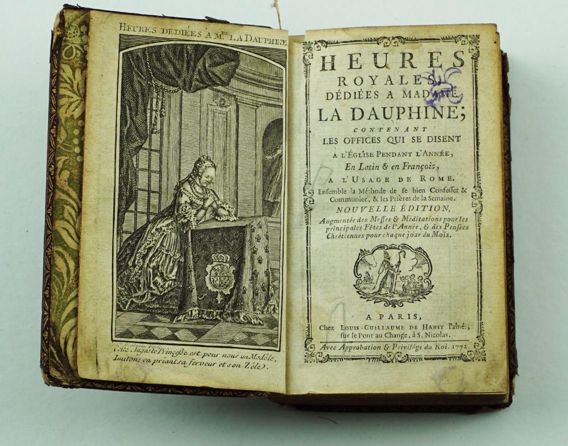 Heures Royales Dédiées a Madame La Dauphine