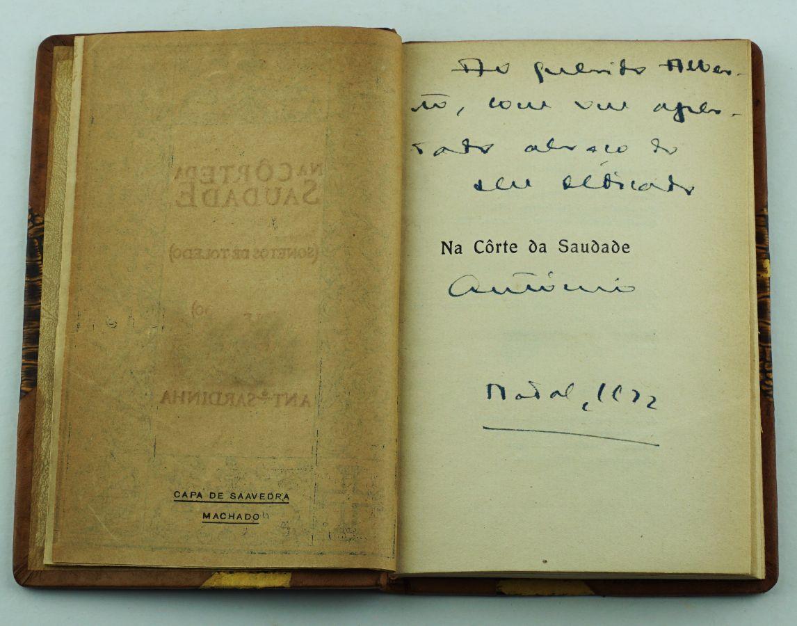 António Sardinha - 1ª edição autografada (1921)